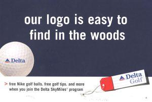 Delta Airways mailer